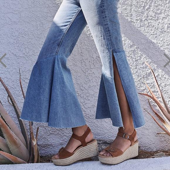 Lucky Brand Denim - Flare Slit Jeans